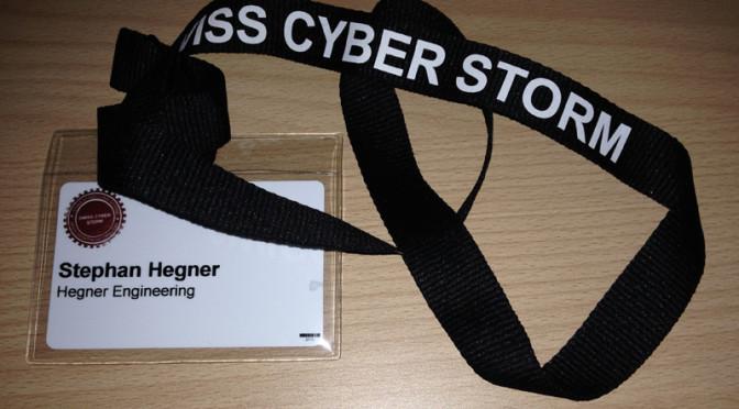 Swiss Cyber Storm 2015