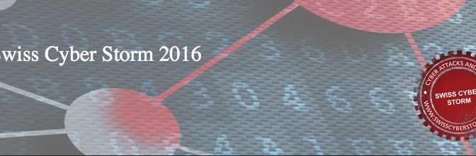 Swiss Cyber Storm 2016
