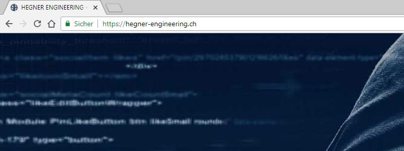 https unter chrome