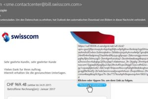 Swisscom Spam